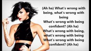 Demi Lovato - Confident (Lyrics with audio!)