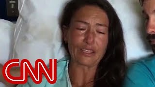 Maui hiker in hospital breaks down over rescue