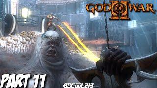 GOD OF WAR 2 GAMEPLAY WALKTHROUGH PART 11 CLOTHO BOSS FIGHT - PS3 LET'S PLAY