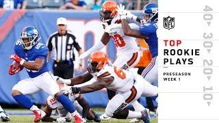 Top Rookie Plays of Preseason Wk 1 | NFL 2018 Highlights
