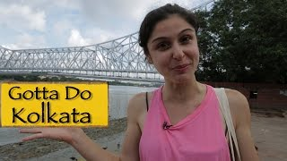 Welcome To Kolkata + Howrah Bridge!!!