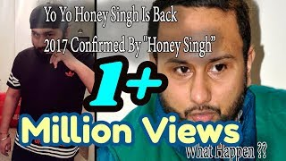 Honey Singh says  -My fans deserve to know what happened to me