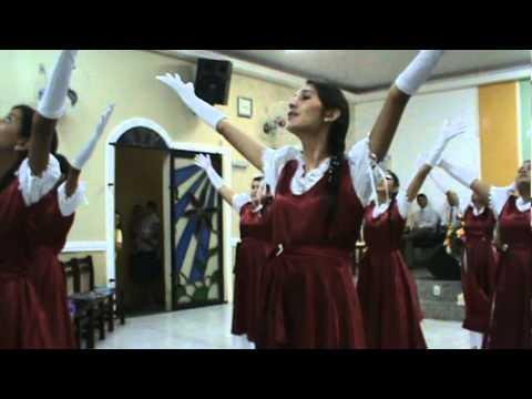 Grupo de Coreografia Rosa de Saron Sete Trombetas Lauriete