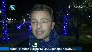 Angri. Salerno. Polemiche sulle luminarie parla D'Auria