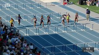 Keni Harrison Becomes National Champion In The Women's 100-meter Hurdles | Champions Series Presente