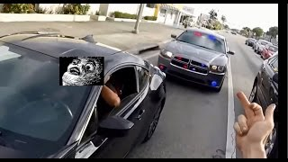 Motorcycle Police Chases Compilation #4 - FNF