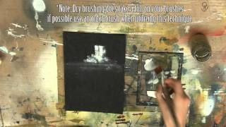 Acrylic Painting Tutorial: Dry Brushing Part 1