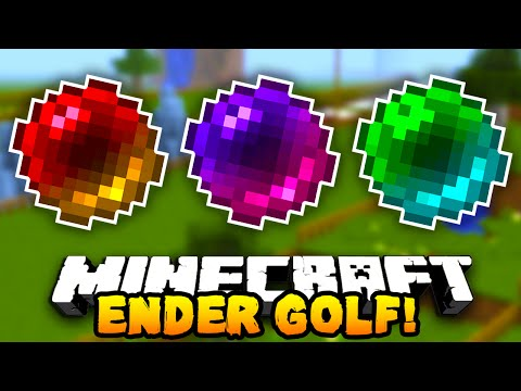 Minecraft ENDER PEARL GOLF 2 Funny Mini game w PrestonPlayz & The Pack