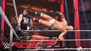 Cesaro vs. Kevin Owens - No. 1 Contender's Match: Raw, May 2, 2016