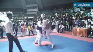 Finals INDIA VS ETHIOPIA Taekwondo match Virender bhukal