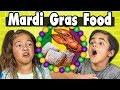 Kids Vs. Food | MARDI GRAS FOOD