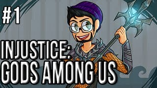 Injustice: Gods Among Us | Ep.1 | Wtf dude, Superman is butt hurt!