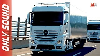 NEW MERCEDES ACTROS 2017 - FIRST TEST DRIVE ONLY SOUND