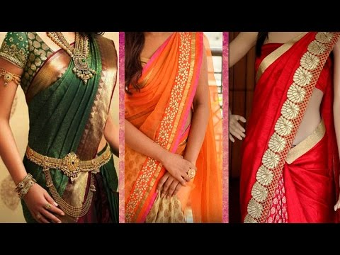 3 Different Ways of Wearing Saree to Look Slim with Perfect Thin Pleats | Tips to Drape Saree Pallu