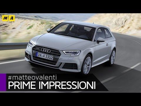 Audi A3 restyling Prime impressioni