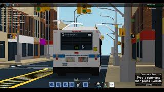 NYCTA Bus: 95 Street bound 1999 New Flyer C40LF B8 [#808] @ 18 Av-70 St
