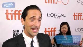Adrien Brody Septembers of Shiraz Red Carpet (TIFF 2015)