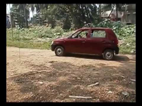 Trivandrum Driving Test - Taking 'H'