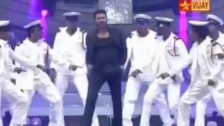 Prabhu Deva dance performance in vijay awards 2015