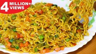 Masala Maggi Recipe   Vegetable Masala Maggi   Easy & Tasty Maggi - Kanak's Kitchen