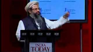 Maulana Mahmood Madani speech at India Today Conclave 2009