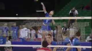 Increíble 4 aces de Ivan Zaystev en Italy vs USA