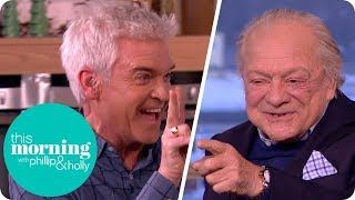 Sir David Jason and Phillip Recreate the Hilarious 'Only Fools and Horses' Bar Scene | This Morning