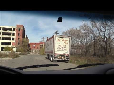 The Packard Plant & The Surrounding Area # 1