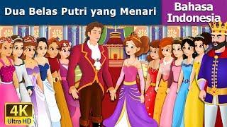 Dua Belas Putri yang Menari - Cerita Untuk Anak-anak - Animasi Kartun - 4K - Indonesian Fairy Tales