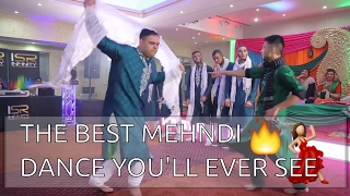 THE BEST MEHNDI DANCE YOU'LL EVER SEE.