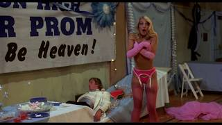 Heather Thomas stripped to her underwear. - Zapped! (1982)  clip (HD)