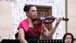Ana-Maria Truta playing Butterfly Lovers by He Zhanhao & Chen Gang