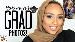 GRADUATION MAKEUP TUTORIAL | Perfect for Photos & Events! | Aysha Abdul