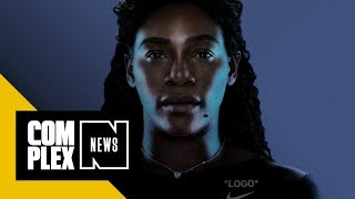 Virgil Abloh Designs Serena Williams' US Open 'Power Suit' and Off-White Nike Collection