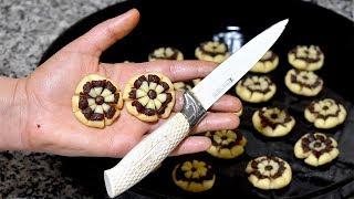 حلوى بدون طابع بالسكين فقط بشكل جديد اقتصادية لشرب الشاي ب بيضة واحدة روووعة تستحق التجربة