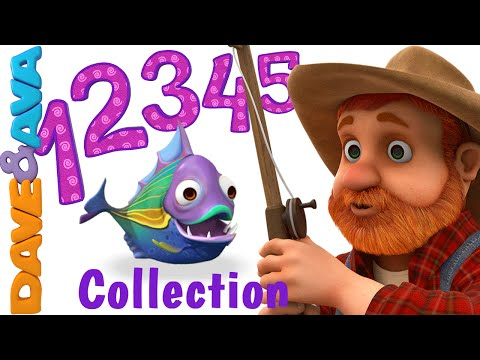 Xxx Mp4 12345 Once I Caught A Fish Alive Number Song Nursery Rhymes Collection From Dave And Ava 3gp Sex