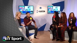 Was The Ox flirting with Little Mix? | BT Sport
