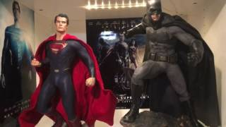 Sideshow Batman vs Superman Batman premium format statue unboxing and review