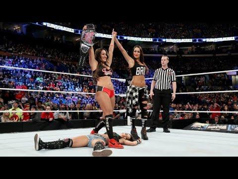 Xxx Mp4 Nikki Bella Vs AJ Lee Divas Championship Match Survivor Series 2014 3gp Sex