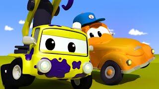 El lavado de Autos de Tom -  Bebé Charlie - Dibujos animados de carros
