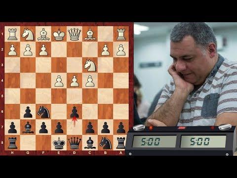 LIVE Blitz (Speed) Chess Game: Decoy Tactics! Blitz #353 vs. IM StepByStep (2296) - KID