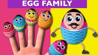 Egg Finger Family And Many More Finger Family Songs