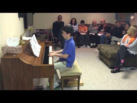 Jackson Matz Piano Recital