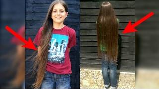 Dibalik keindahan rambut panjang anak ini, ternyata menyimpan