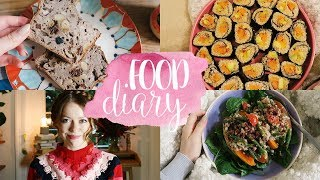 FOOD DIARY | DIY Quinoa Sushi vegan, glutenfrei & OHNE REIS!