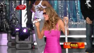 [1080p] Mariah Carey - Touch My Body @ (Good Morning America 25.04.2008) HD