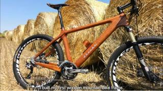 """Wooden bicycle with ISO quality certification - Dřevák 29"""" MTB"""