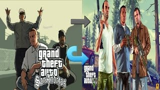 تحويل لعبة GTA: San Andreas الى GTA: V بطريقة بسيطة وبدون روت HIGH 480p