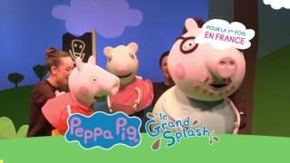 PEPPA PIG en spectacle pour la première fois en France !