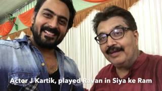 Actor J Karthik, Played Ravan in Siya ke Ram